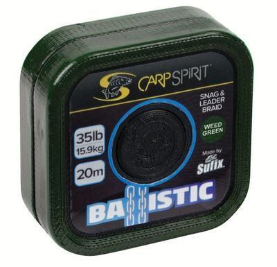 Carp Spirit návazcová šňůrka Ballistic Braided Leader Camo Green