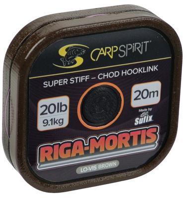Carp Spirit návazcová šňůrka Riga Mortis-Chod Hoolink Lo-Vis Brown