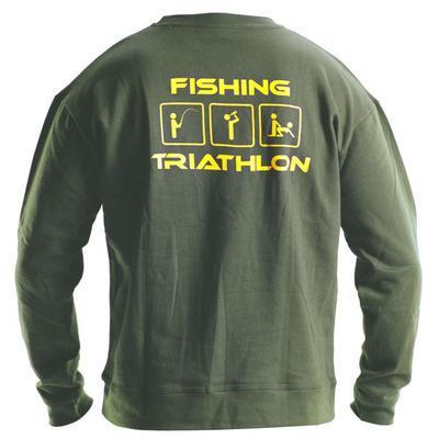 DOC mikina Triathlon zelená - 1