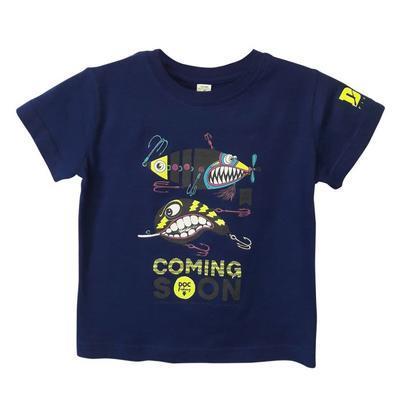 DOC triko dětské Třpytky královská modrá