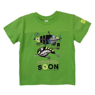 DOC triko dětské Třpytky zelené