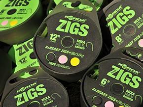 Korda hotové návazce Ready Tied Zig Rig - 1