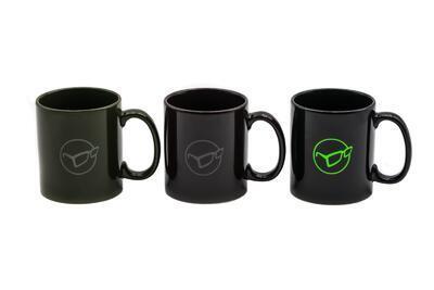 Korda rybárske hrnčeky Glasses Logo Mug - 1