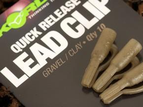Korda závěsky na olova Quick Release Lead Clips - 1