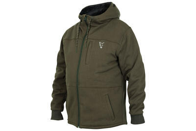 Fox mikina s kapucňou Collection Green/Silver Sherpa Hoodie - 1