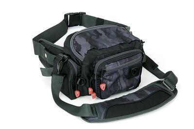 Fox prívlačová taška Rage Voyager Camo Deluxe Belt (NLU048)