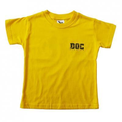 DOC triko dětské žluté - 2