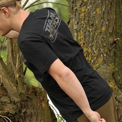Korda tričko Kore Digital Camo TK Black T-Shirt - 2