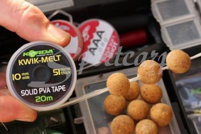 Korda PVA páska Kwik Melt PVA Tape 10 mm (KEMT) - 2