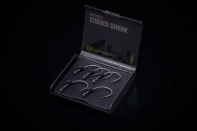 RidgeMonkey háčky RM-Tec Curved Shank Hook - 2