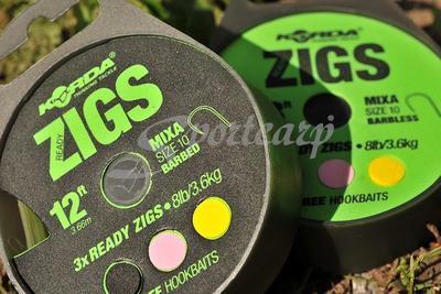 Korda hotové návazce Ready Tied Zig Rig - 2