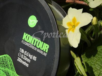 Korda fluorocarbonový vlasec Kontour 12 lb (KFC12) - 2
