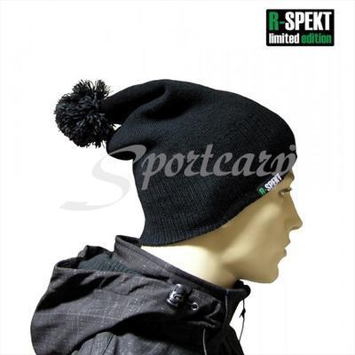 R-Spekt kulich PomPom Duo Beanie Style černý (76049) - 2