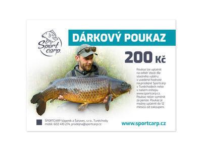 Sportcarp darčekový poukaz - 2