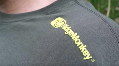 RidgeMonkey tričko Green T-Shirt vel. XL (RM TS-G-XL) - 3