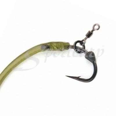 Fox malé obratlíky s kroužkem Edges Kuro Micro Hook Ring Swivels (CAC586) - 3