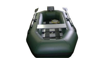 Boat007 nafukovací člun C-235 zelený - 4