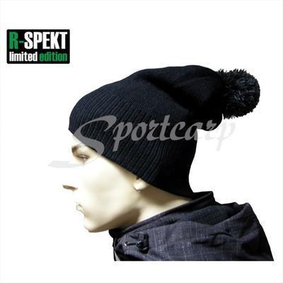 R-Spekt kulich PomPom Duo Beanie Style černý (76049) - 6