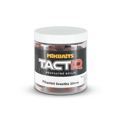 Mikbaits TactiQ rozpustné boilie 250 ml - 20 mm - 6