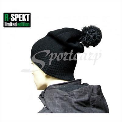 R-Spekt kulich PomPom Duo Beanie Style černý (76049) - 7