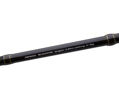Flagman přívlačový prut Blackfire 2,44 m 5 - 15 g (FBF802L) - 7